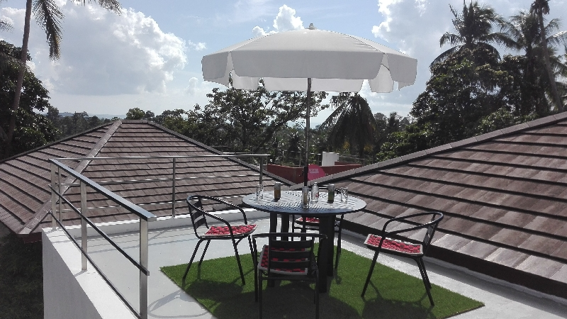 photo 14 English top terrace of the house for rent for your ...